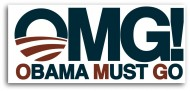 Obama Must Go Bumper Stickers from Patriot Depot